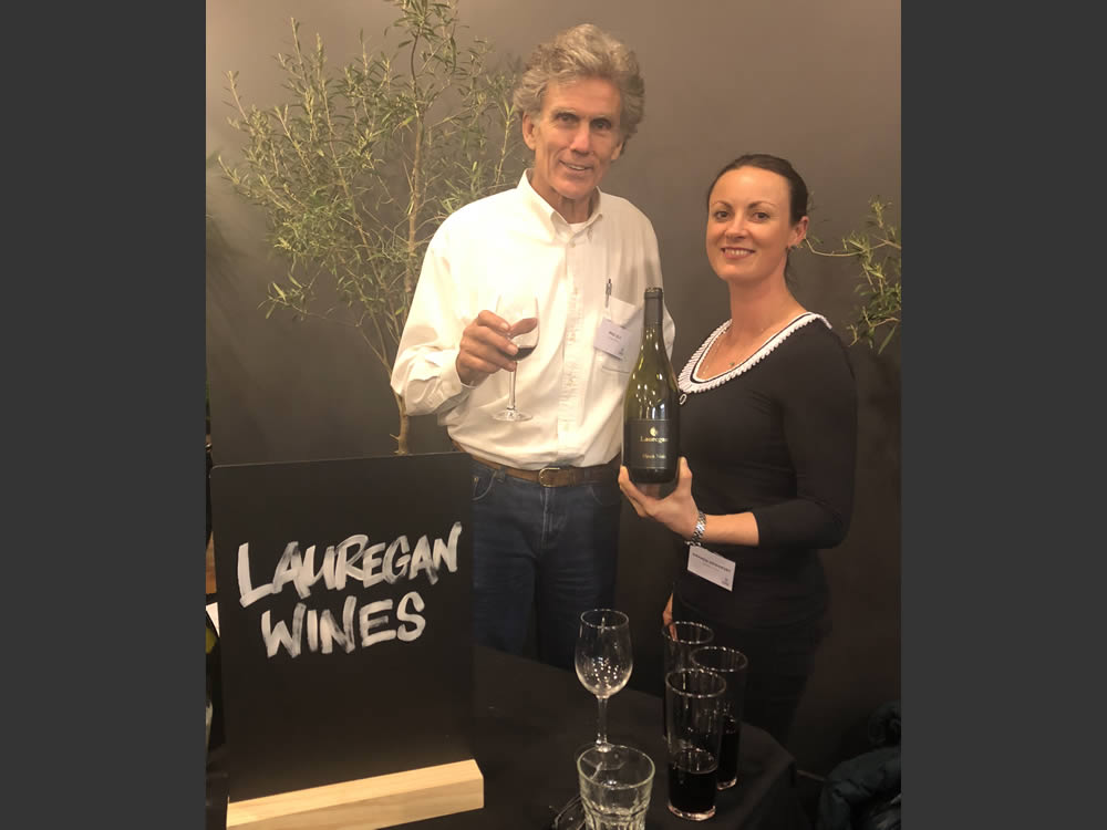 At the Hawkes Bay Wine Celebration in Wellington 2018